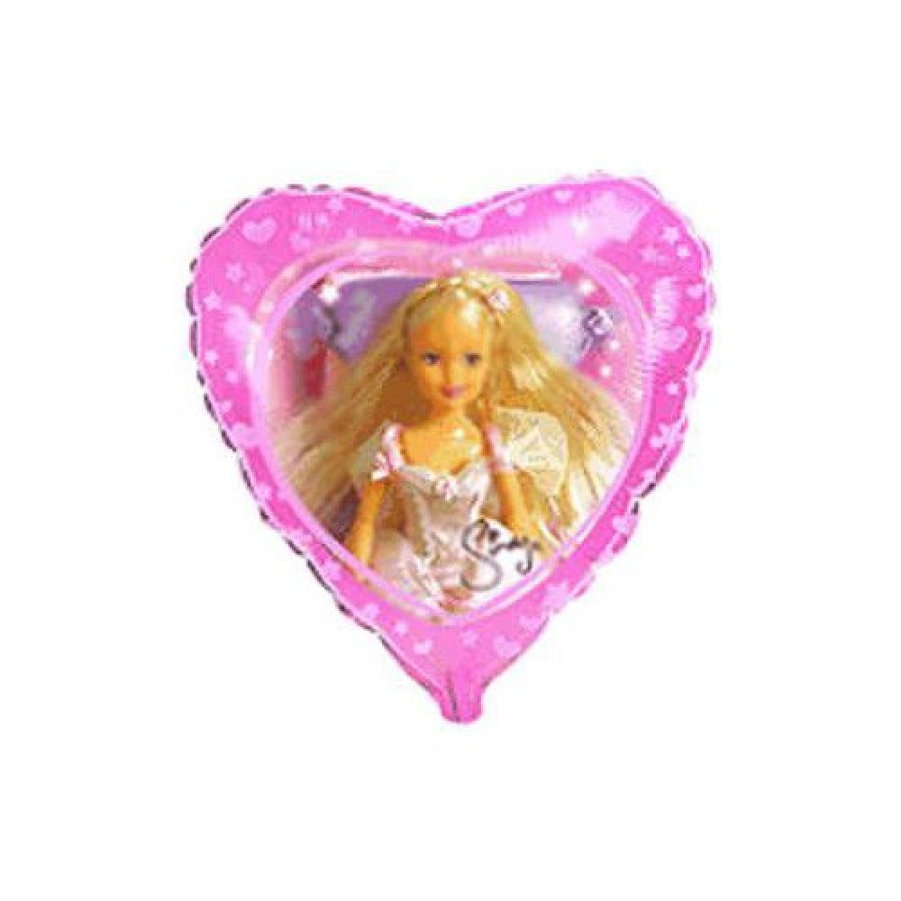 Send en ballon Sindy barbie dukke med helium