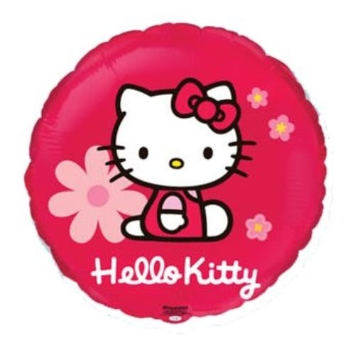 Send en ballon Hello Kitty med helium