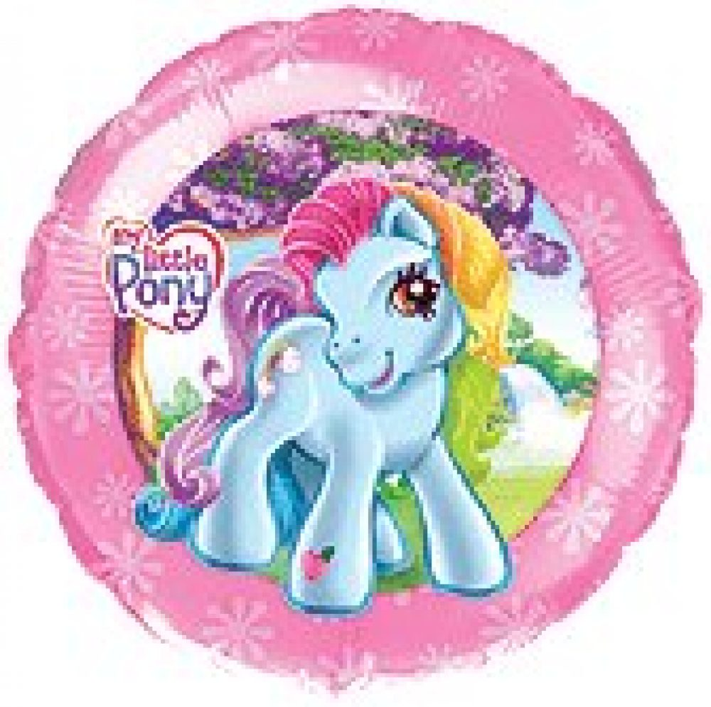 Send en ballon My little pony med helium
